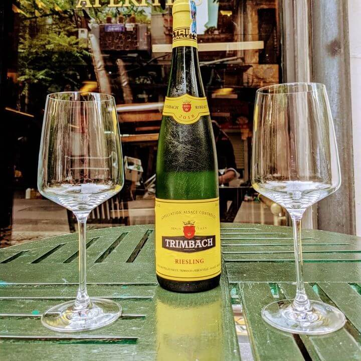 Vang trắng Trimbach Riesling Alsace