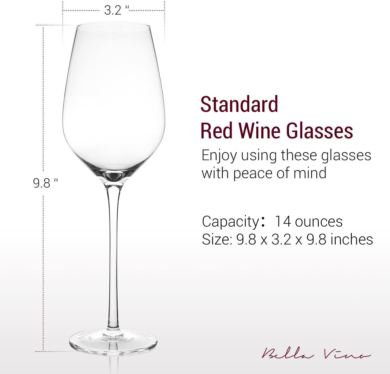 """Ly rượu vang đỏ """"tiêu chuẩn"""""""