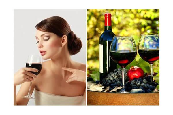 Những công dụng tuyệt vời của rượu vang