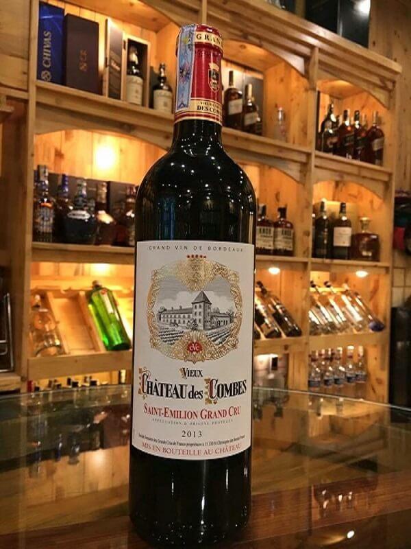 Rượu vang pháp Chateau des Combes Saint Emilion Grand Cru