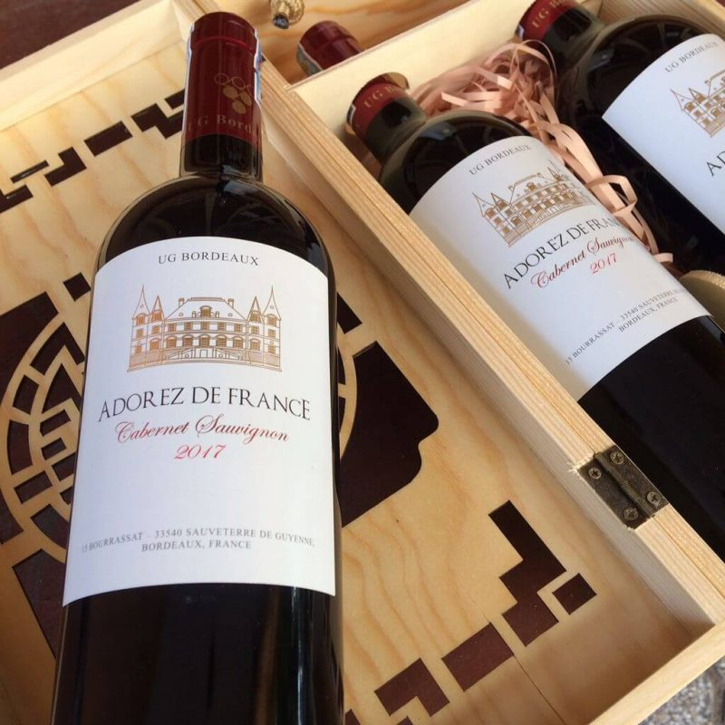 Rượu vang Pháp Cabernet Sauvignon