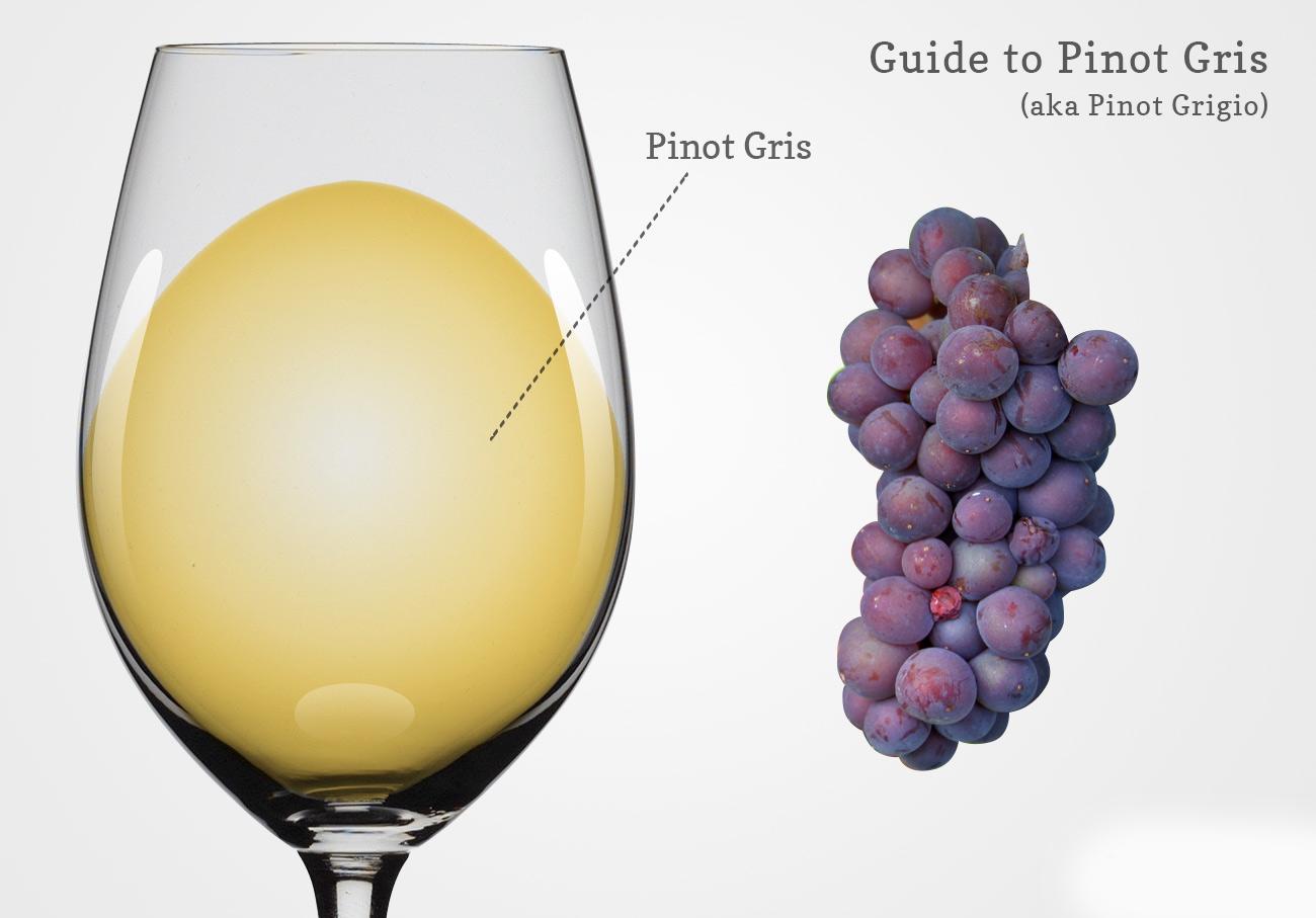 Vang trắng Pinot Gris/Pinot Blanc