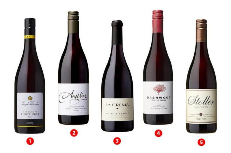 Rượu vang Pinot Noir
