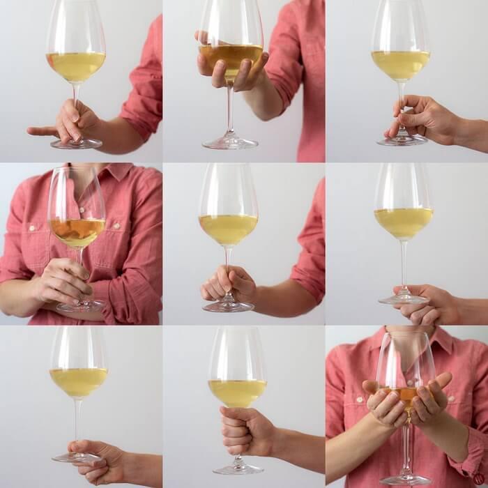 Hướng dẫn bạn cách cầm ly rượu vang sao cho đẹp nhất