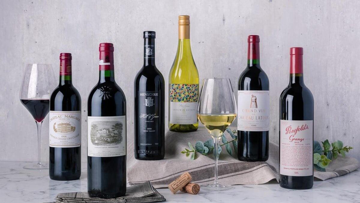Mục đích chính của việc chia kích thước chai rượu vang