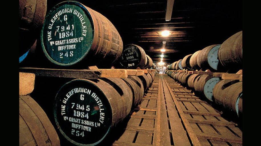Nơi chưng cất rượu Glenfiddich 12