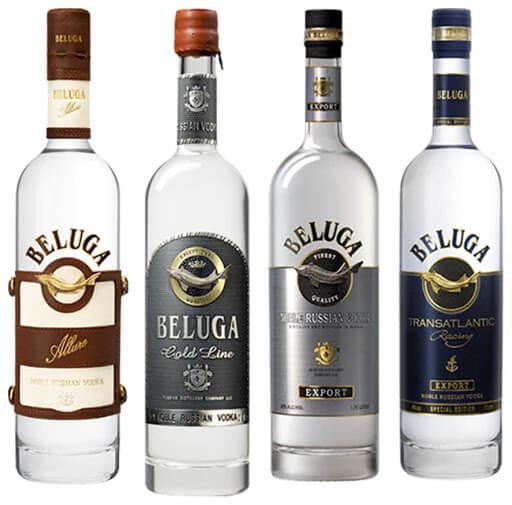 Quy trình sản xuất rượu beluga vodka nga