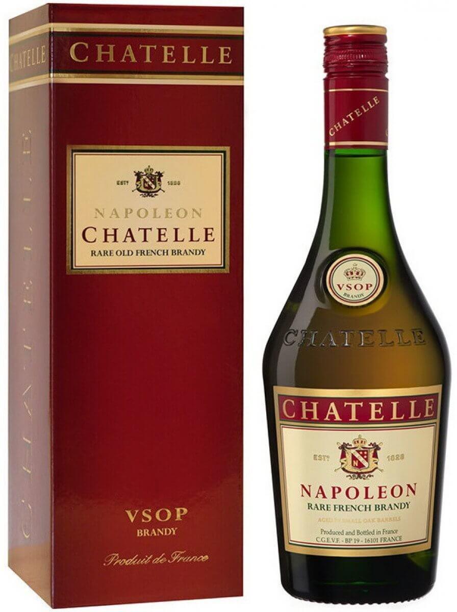 Rượu Chatelle Napoleon rare French Brandy