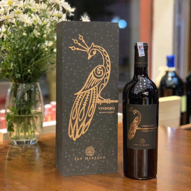 Rượu vang Vindoro Negroamaro San Marzano