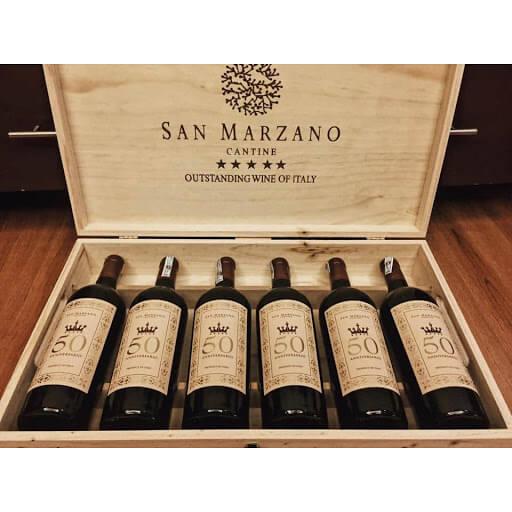 Rượu vang Ý 50 Anniversario San marzano