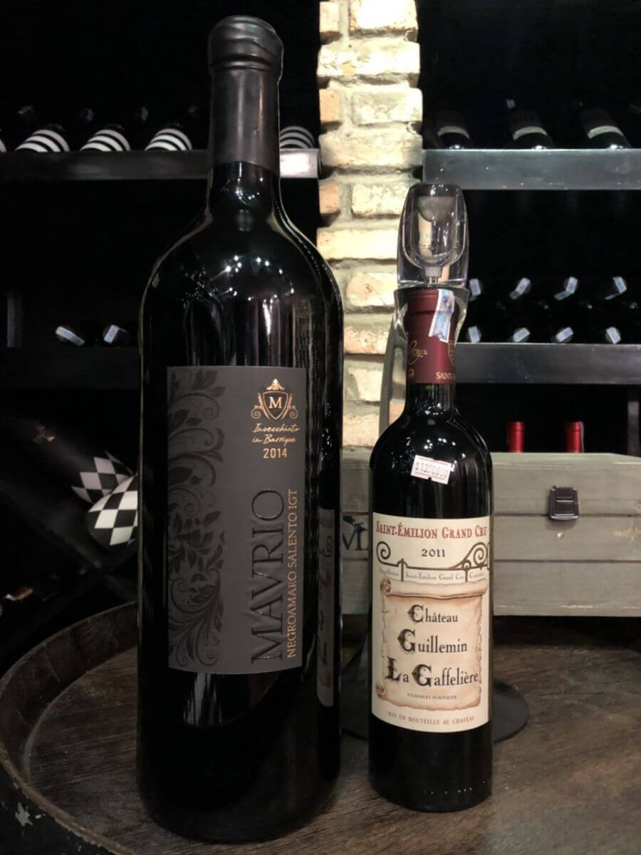 Sự thật về kích cỡ chai rượu vang