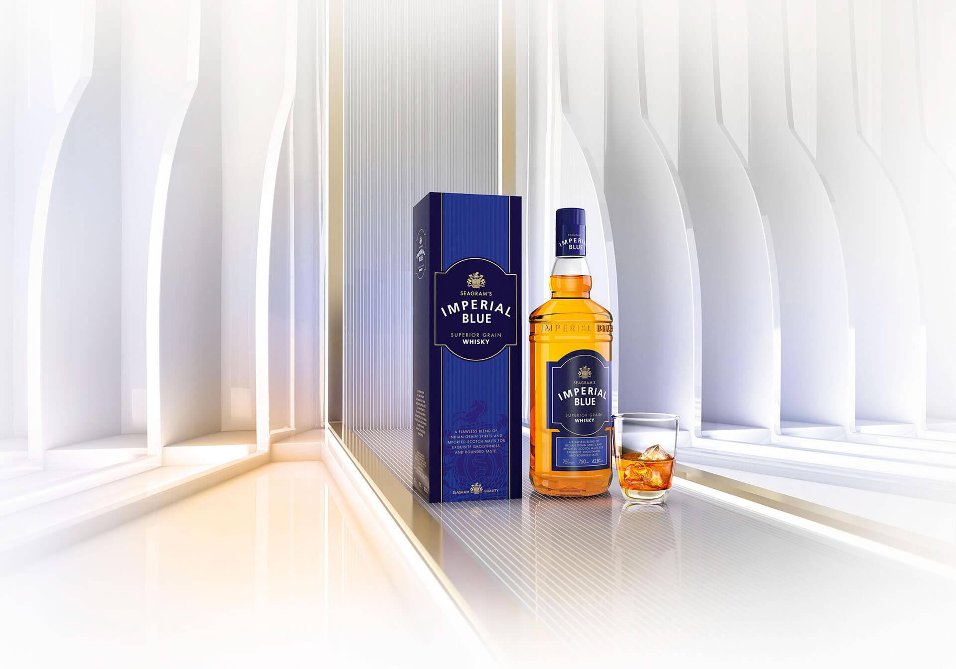Các giải thưởng mà rượu Imperial Blue đạt được