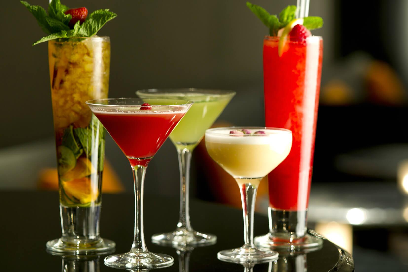Các loại cocktail pha chế rượu rum