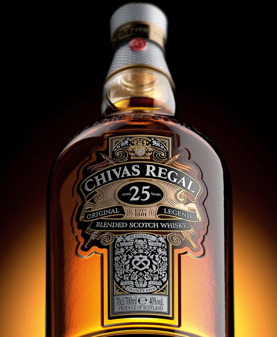 Các loại rượu Chivas 25