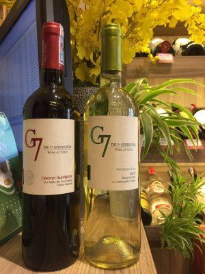 đặc điểm của rượu vang g7