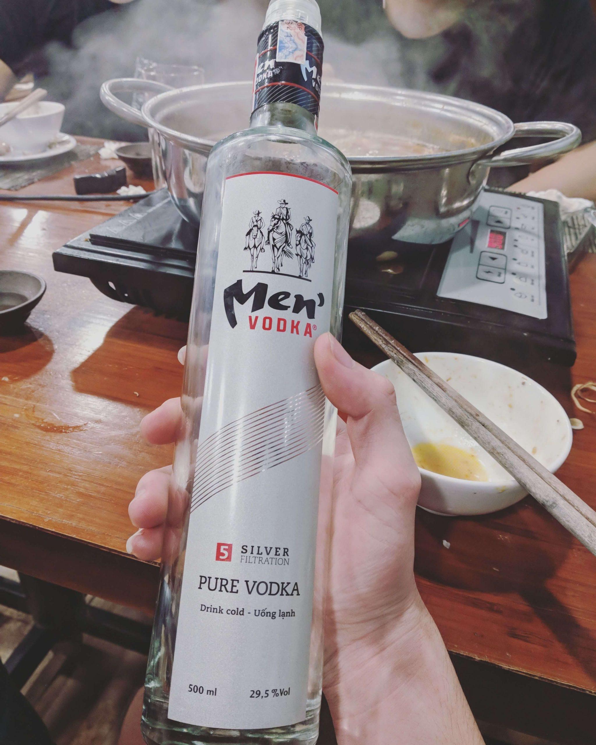Giới thiệu về rượu vodka men's