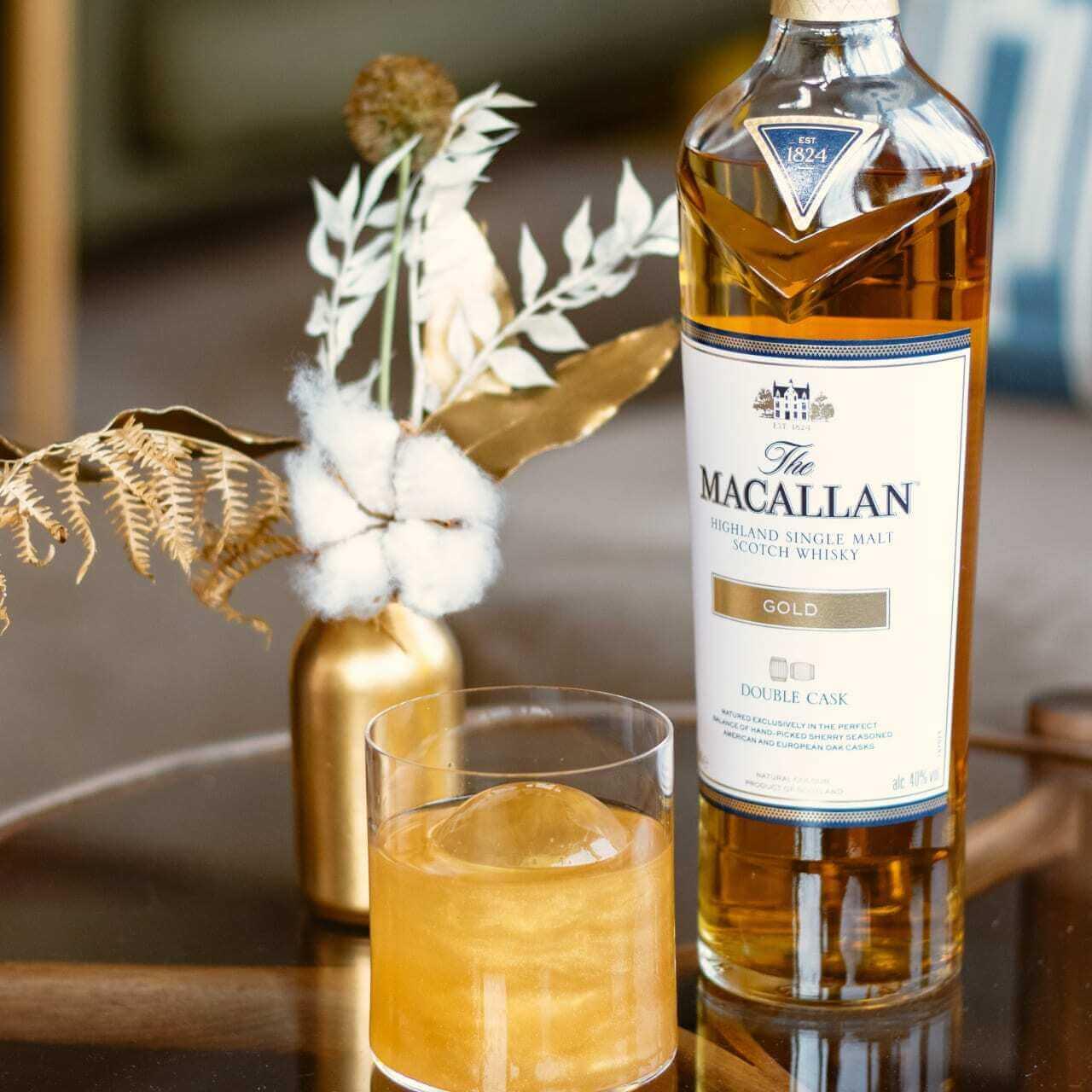 Hương vị đặc biệt của rượu Macallan Gold