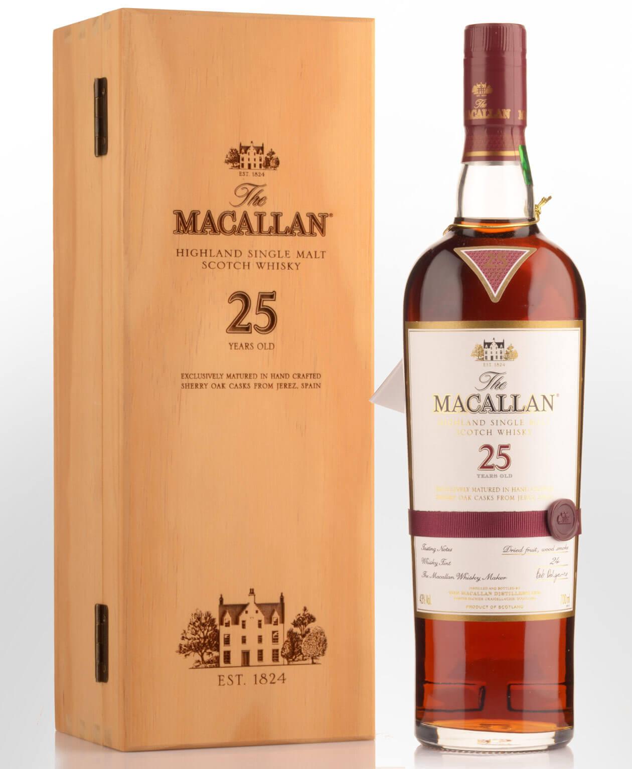 Rượu Macallan 25