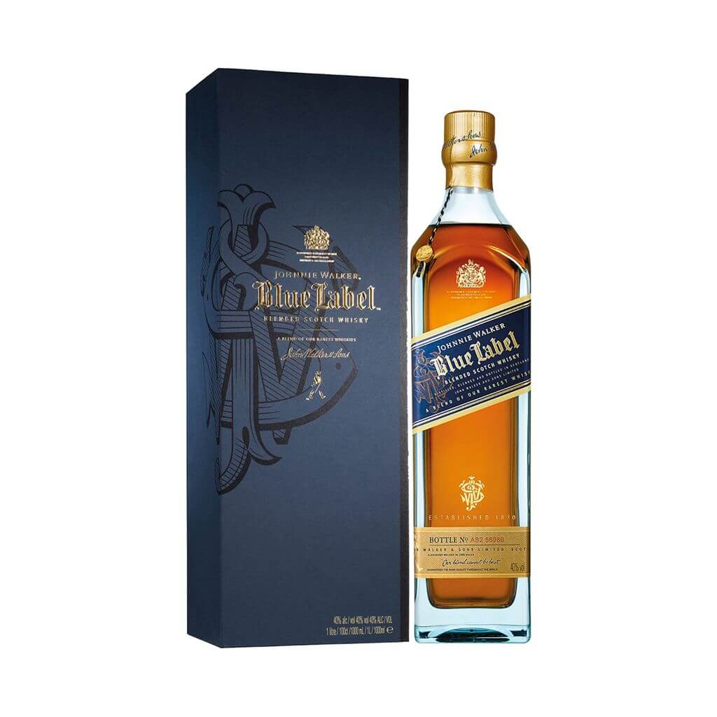 Đặc điểm nổi bật của rượu Whisky Johnnie Walker Blue Label