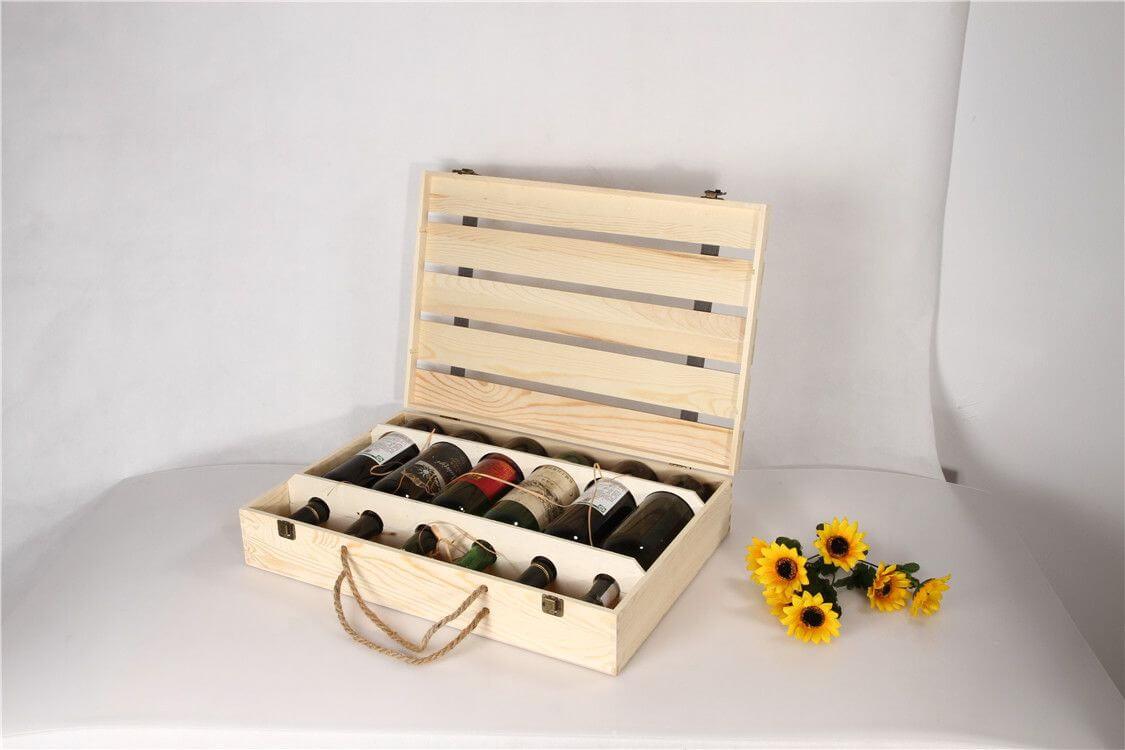 Các bước gia công hộp gỗ đựng rượu
