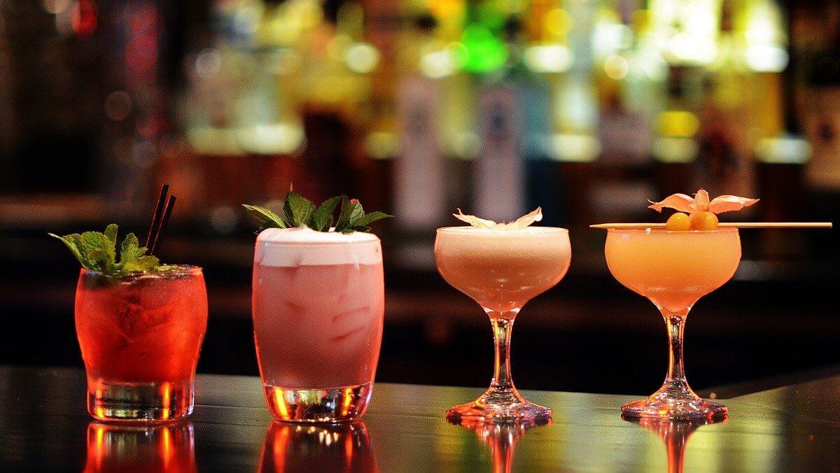 các loại cốc dùng cho Cocktail