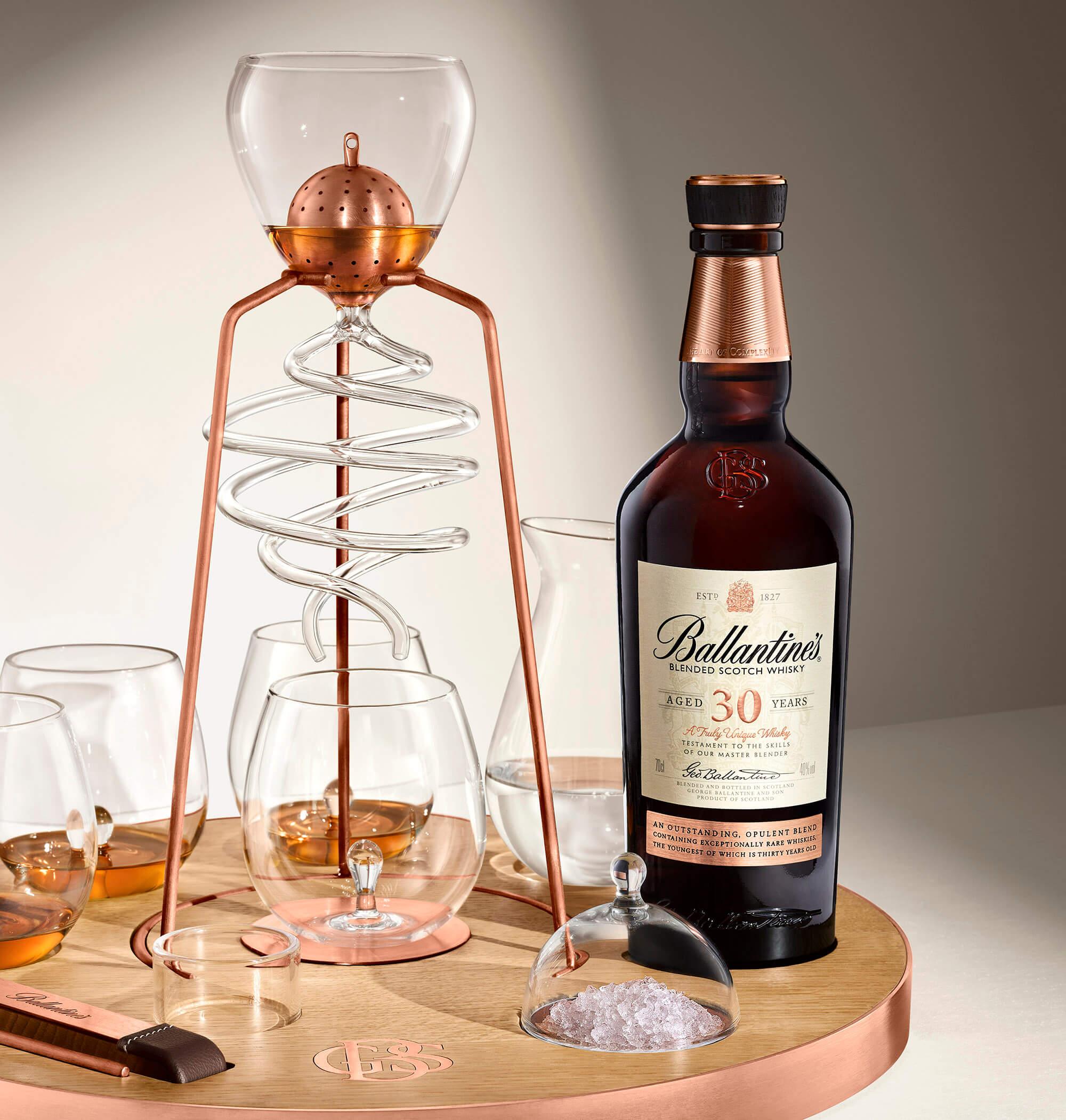 đặc tính của rượu ballantines 30