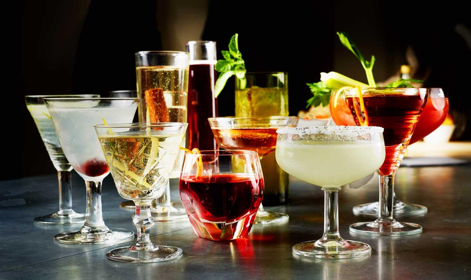 Những loại ly cocktail đẹp thường dùng trong pha chế cocktail