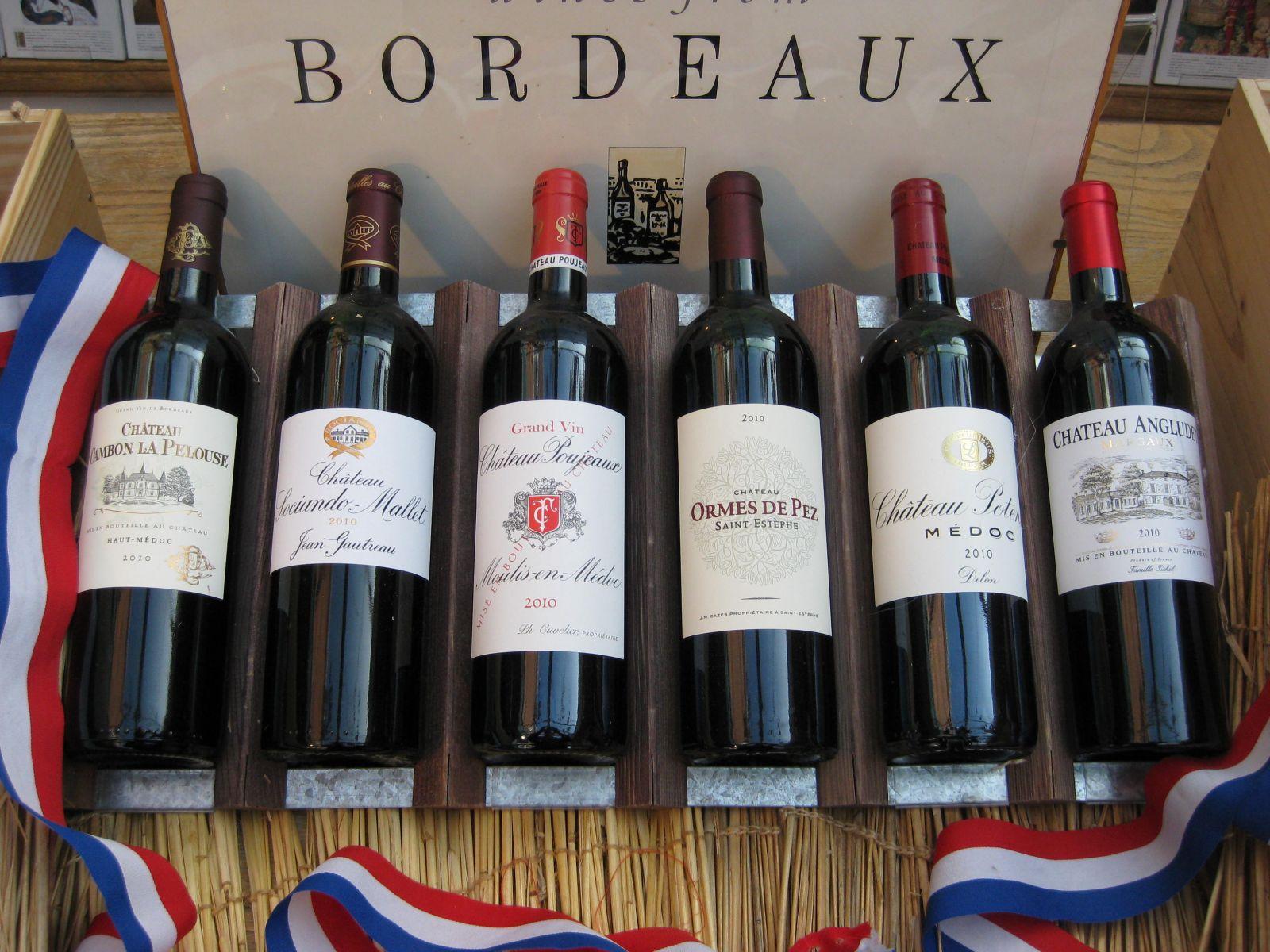 Rượu Bordeaux (Pháp)