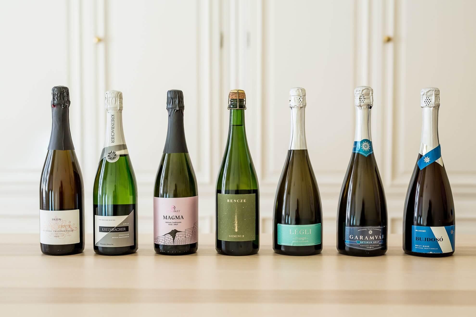Rượu Sparkling của Hungary