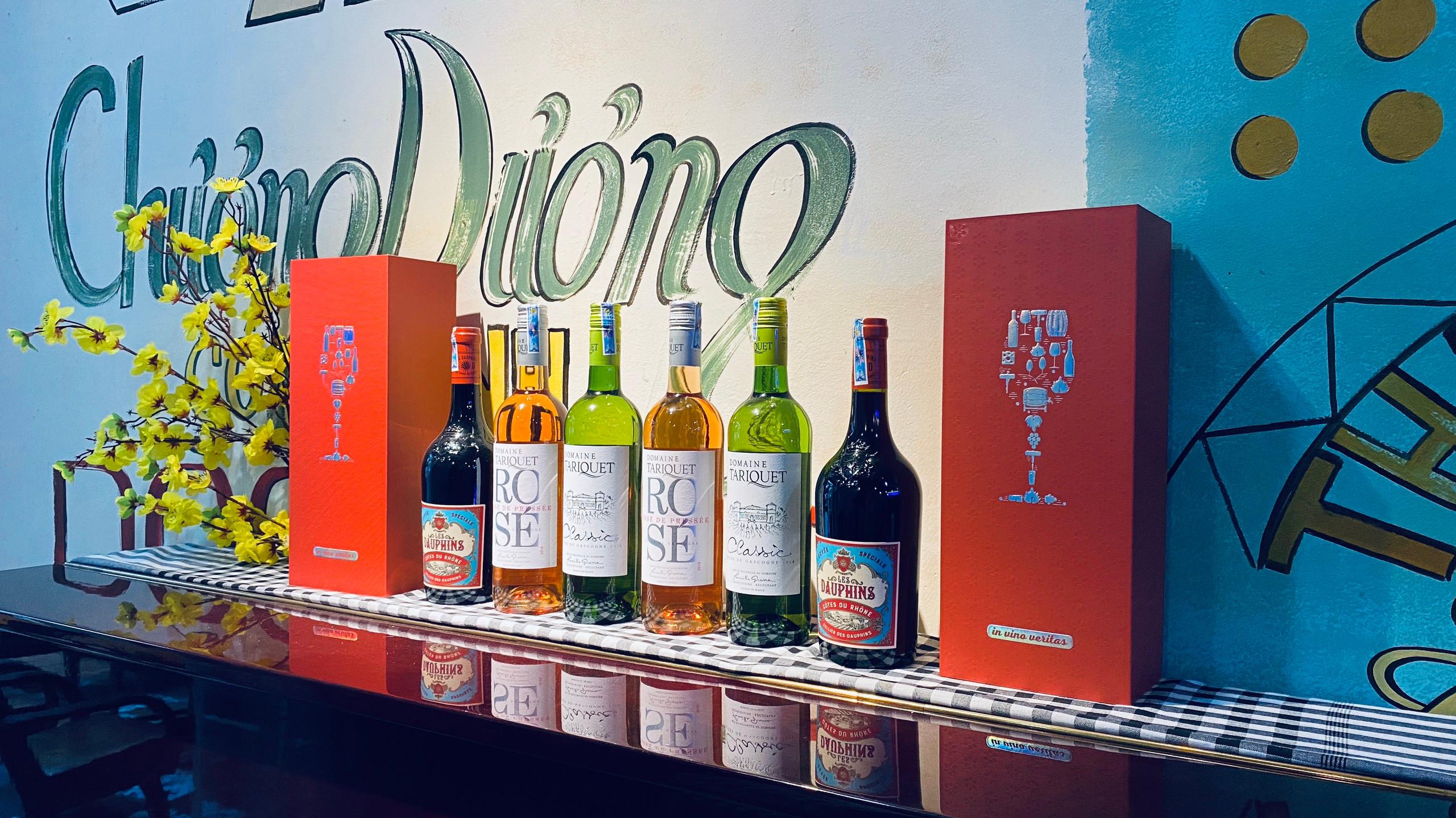 Các loại rượu nổi tiếng của Winecity