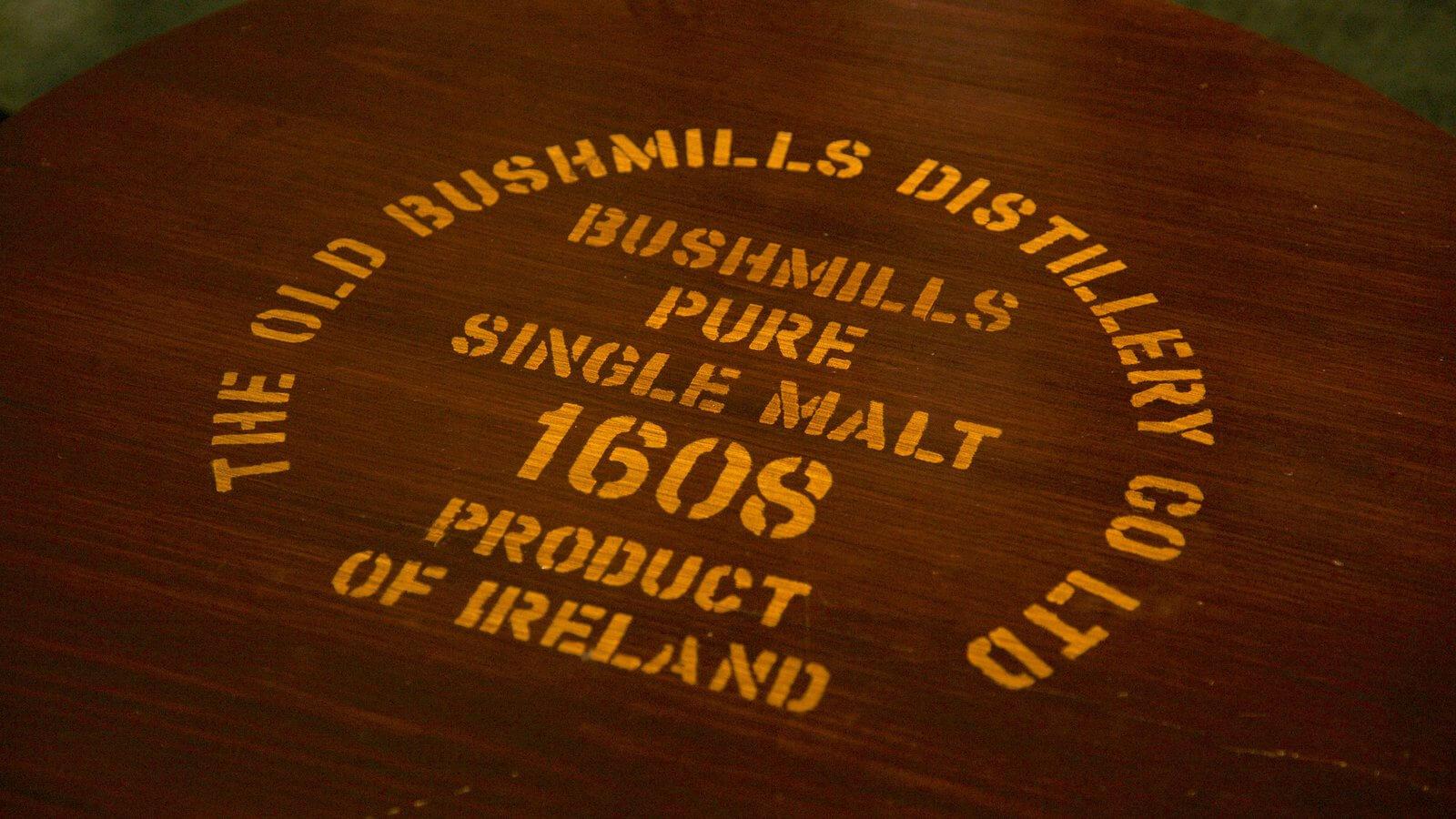 Lịch sử về thương hiệu rượu Bushmills