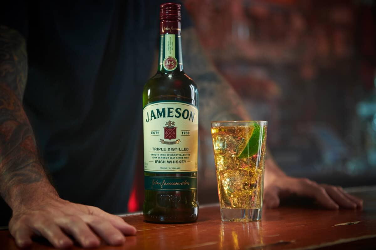 Mẹo phục vụ rượu Jameson Irish Whisky